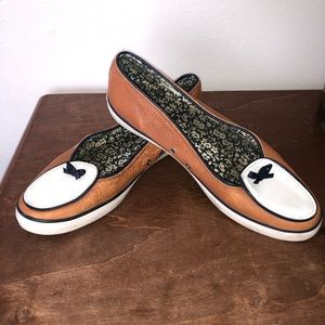 Sperry Brown & White Women's Boatshoes Size 8
